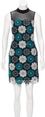 Zac Posen Embroidered Mini Dress w/ Tags