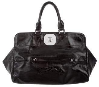 Longchamp Patent Leather Tote