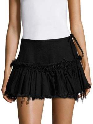 Marques Almeida Mini Frill Skirt