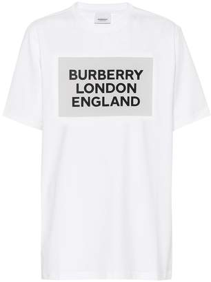 Burberry Printed stretch cotton T-shirt