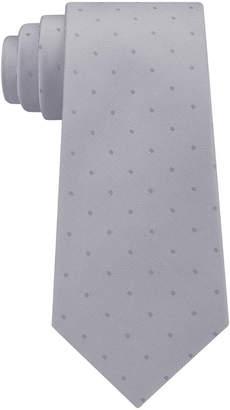 Calvin Klein Men's Mirror Dot Silk Tie