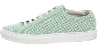 Common Projects Woman by Perforated Achilles Sneakers