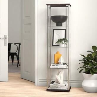 Zipcode Design Avoca Curio Cabinet Zipcode Design