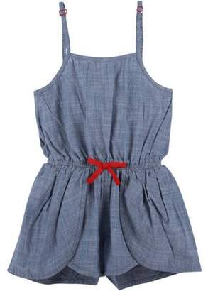 G-Cutee Toddler Girls' Chambray Romper