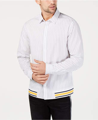 INC International Concepts I.n.c. Men Striped Shirt
