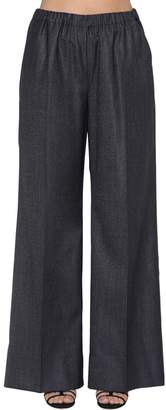 Marina Rinaldi Virgin Wool & Silk Pants