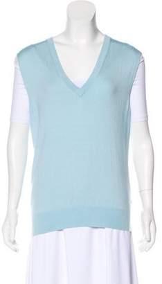 Equipment Silk Sweater Vest