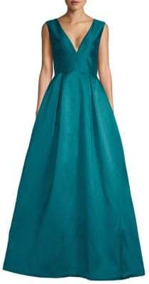 Monique Lhuillier Sleeveless Ball Gown