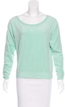 Juicy Couture Fleece Long Sleeve Sweatshirt