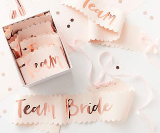 Oasis TEAM BRIDE SASH