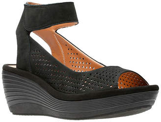 Clarks Reedly Salene Womens Wedge Sandals