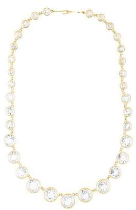Ray Griffiths 18K Topaz Classic Crownwork Collar Necklace