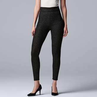 Vera Wang Women's Simply Vera Cozy Fold-Over Leggings