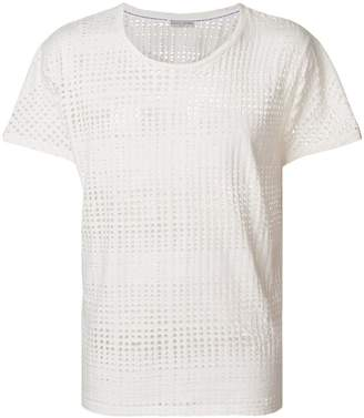 Each X Other crew-neck mesh T-shirt
