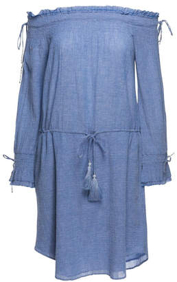Love Sam Cornflower Blue Dress