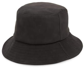 BP Faux Leather Bucket Hat