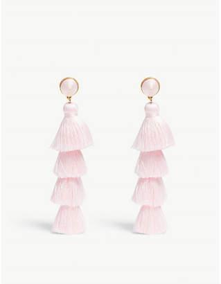 BaubleBar Gabriela tassel stud earrings