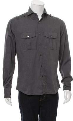 Michael Bastian Utility Button-Up Shirt w/ Tags