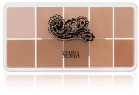 Senna Cosmetics Slipcover Cream to Powder Palette Foundation 1 - Light-Medium