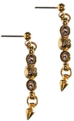 MHART Swirl Spike Earrings
