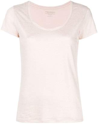 Majestic Filatures scoop neck T-shirt