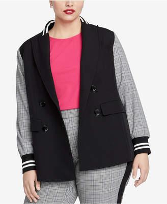 Rachel Roy Trendy Plus Size Peyton Blazer