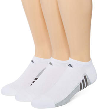 adidas Mens 3-pk. climacool Superlite No-Show Socks