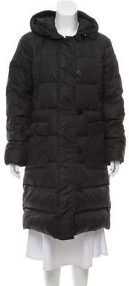 Moncler Hooded Down Coat