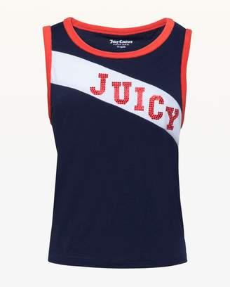 Juicy Couture Juicy Diagonal Stripe Tank