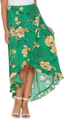bb0a1f0a879c G.I.L.I. Got It Love It G.I.L.I. Petite High-Low Ruffle Hem Skirt
