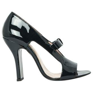 Carven Patent Leather Court Shoes