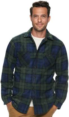 Men's Anchorage Expedition Classic-Fit Plaid Fleece Shirt Jacket