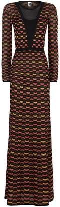M Missoni Lurex Wave Maxi Dress
