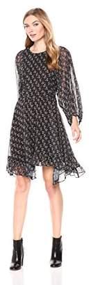 Adelyn Rae Women's Erin Woven Blouson Dress