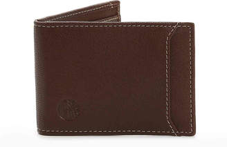 Timberland Flip Clip Leather Wallet - Men's