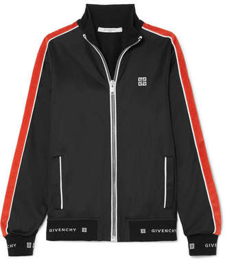 Givenchy Striped Neoprene Jacket - Black