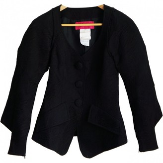 Christian Lacroix Black Wool Jackets