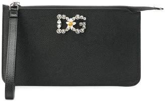 Dolce & Gabbana embellished logo mini bag
