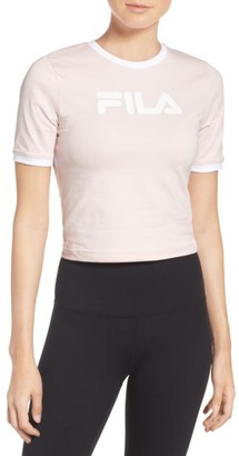 Women's Fila Tionne Logo Crop Tee $38 thestylecure.com