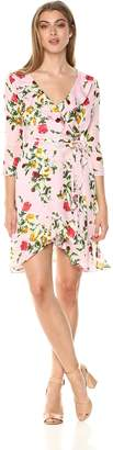 Milly Women's Rose Print on GGT Audrey Dress