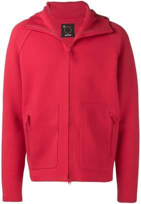 Aspesi basic hooded jacket