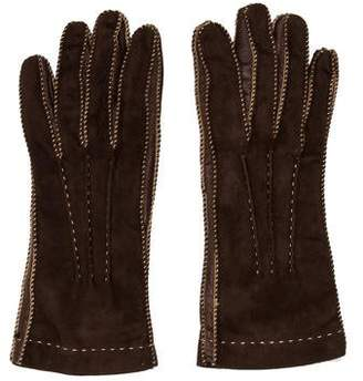 Loro Piana Suede Cashmere-Blend Gloves
