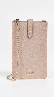 Kate Spade Glitter Phone Sleeve Crossbody Bag