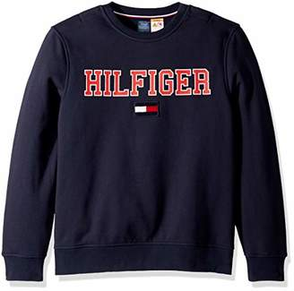 Tommy Hilfiger Adaptive Men's Sweatshirt with Magnetic Buttons at Shoulders