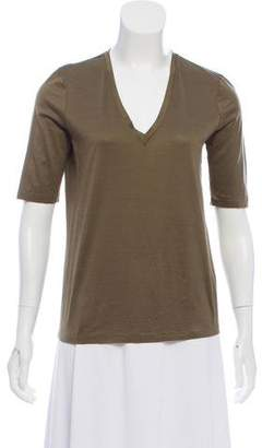 Elizabeth and James Short Sleeve V-Neck T-Shirt