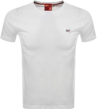 Superdry Collective Logo T Shirt White