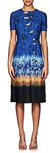 Altuzarra Women's Ilari Tie-Dyed Dress - Ceramic Blue