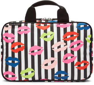 Lulu Guinness Stripe Lip Blot Wash Bag