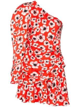 Borgo de Nor Christina One Shoulder Mini Dress