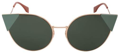 Fendi Lei Round Sunglasses FF0190S DDB 07 57